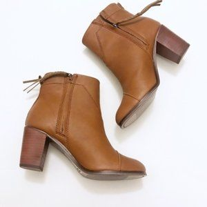 TOMS Leather Lunata Ankle Boots
